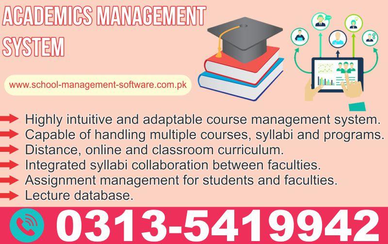 Academics Management System