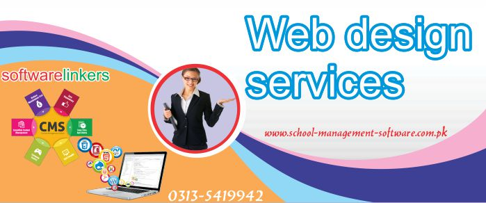 Web design services in pakistan