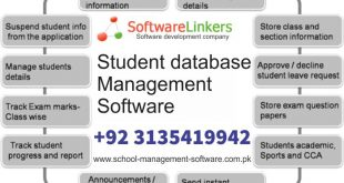 Student database management software