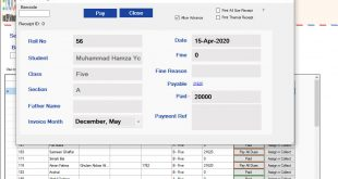 Offline School Management Software