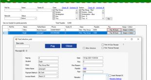 Software for School Fees Collection